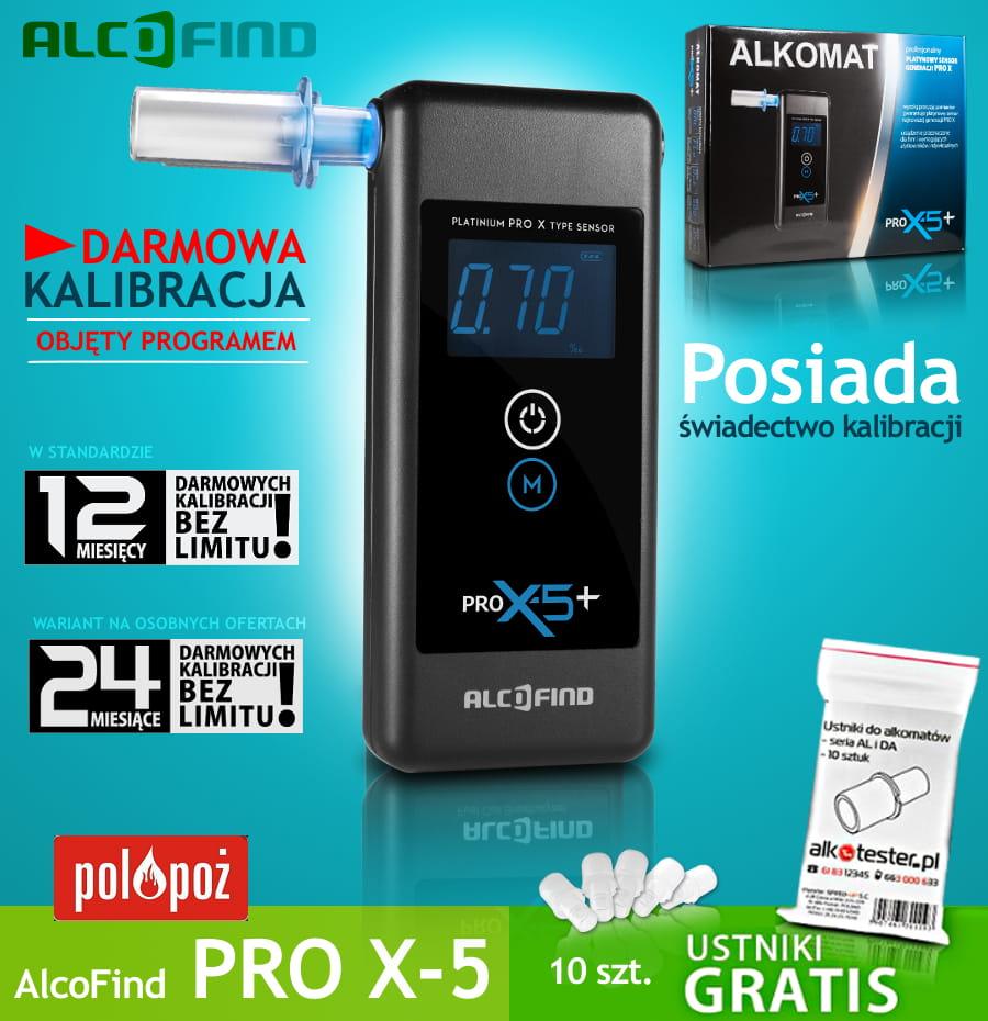 Alkomat AlcoFind Pro X-5