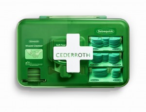Dozownik plastrów Cederroth Wound Care Dispenser Blue