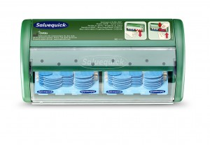 Dozownik na plastry Cederroth Salvequick Dispenser Blue Detectable,